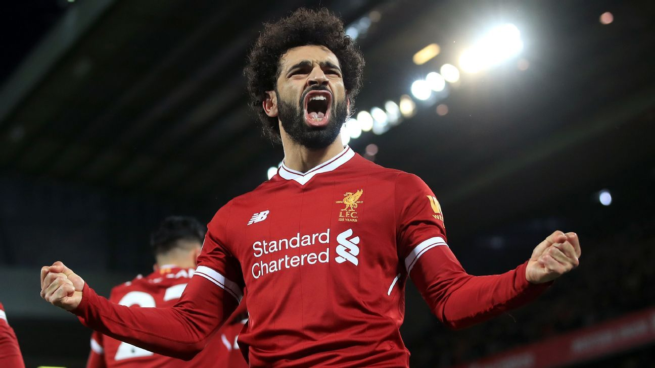 Mohamed Salah had a stellar debut season for Liverpool.