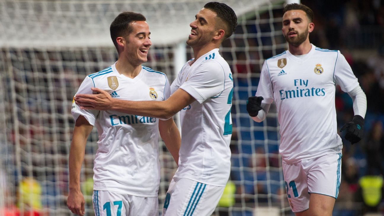 Lucas Vazquez has been the only consistent backup for Real Madrid.