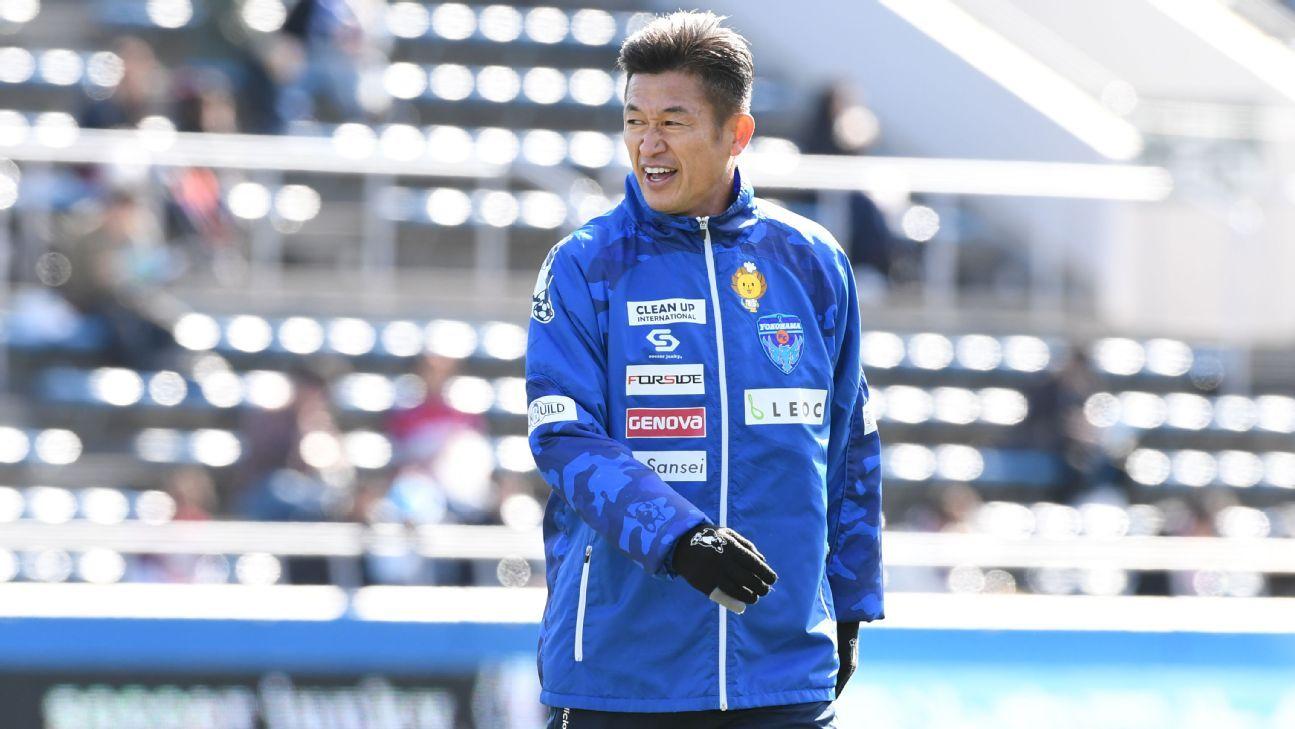 Kazuyoshi Miura of Yokohama FC