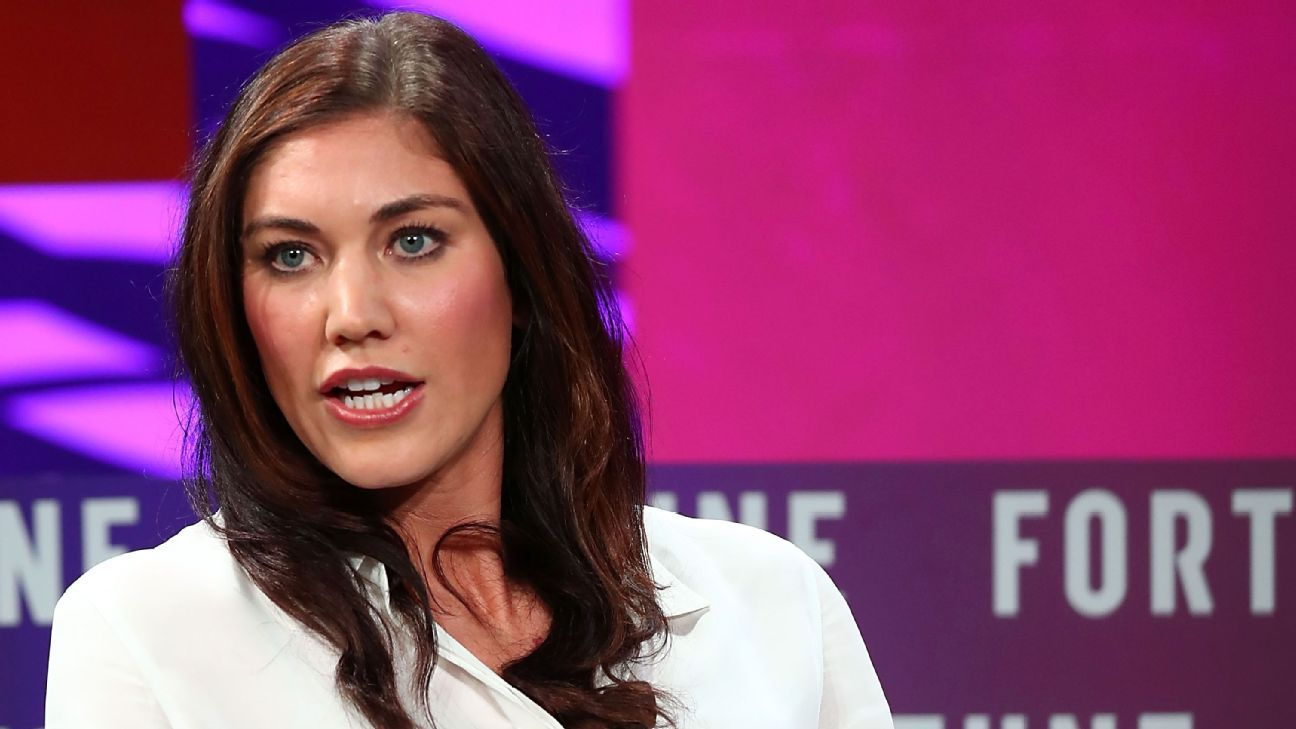 Hope Solo was ostracized from U.S. Soccer in 2016.