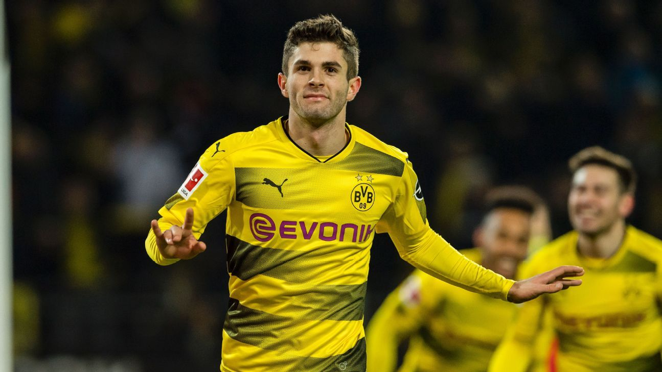 Christian Pulisic has long been linked with a move away from Borussia Dortmund.