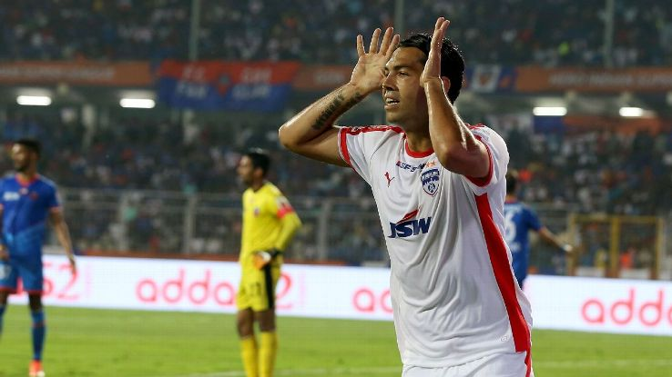 Miku is Bengaluru's top scorer with 11 goals.