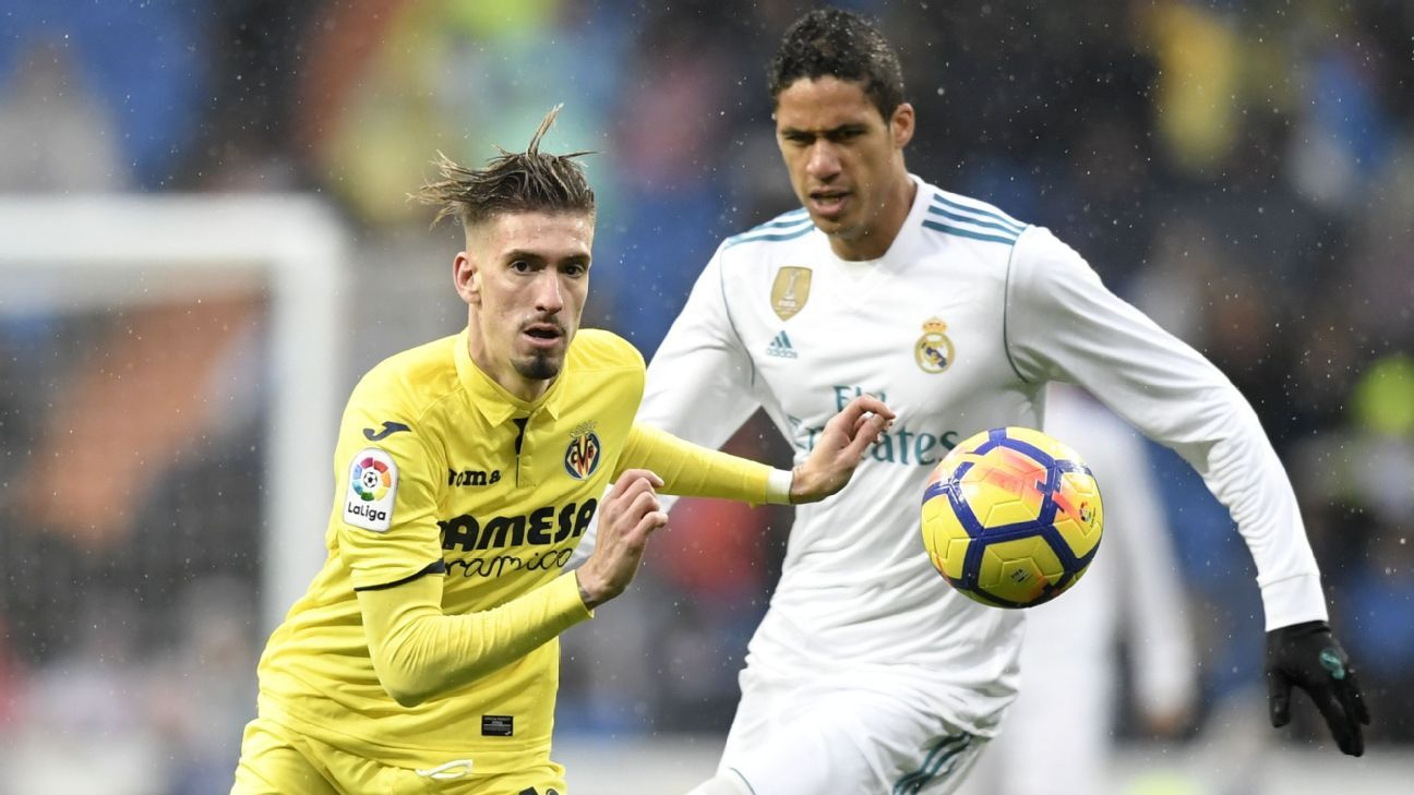 Villarreal stun real madrid as atletico hold on to win in la liga espn fc - Villarreal fc league table ...