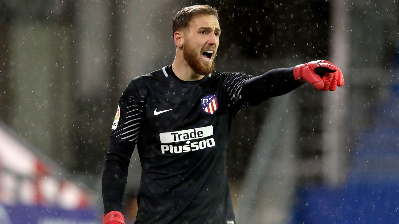 Jan Oblak ensured Atletico left Eibar with all three points.