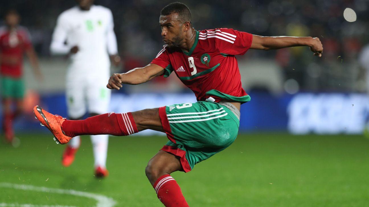 Ayoub El Kaabi of Morocco