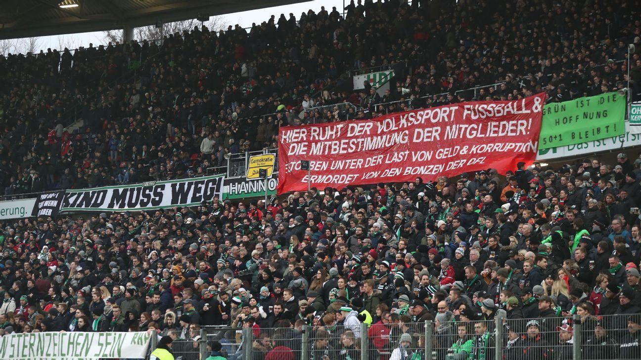 Hannover fans