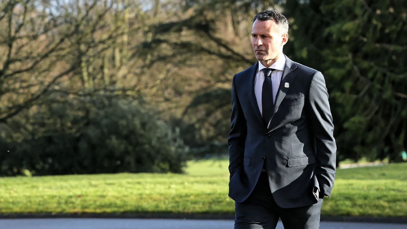 Ryan Giggs took charge of Wales after they failed to qualify for the World Cup under Chris Coleman.