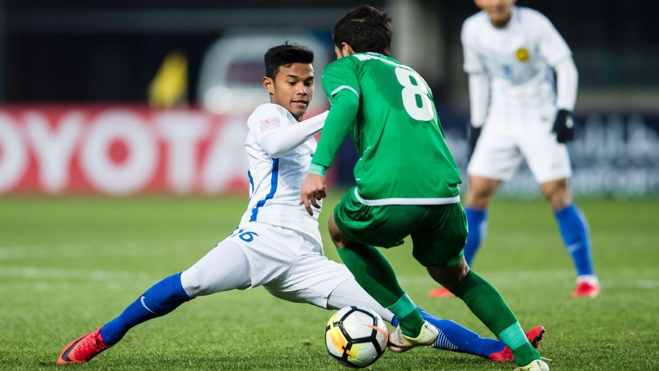 Danial Amier Norhisham of Malaysia U23