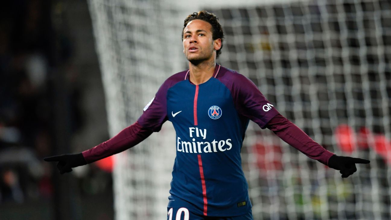 Neymar grabbed four goals and two assists in his best performance for PSG to date.