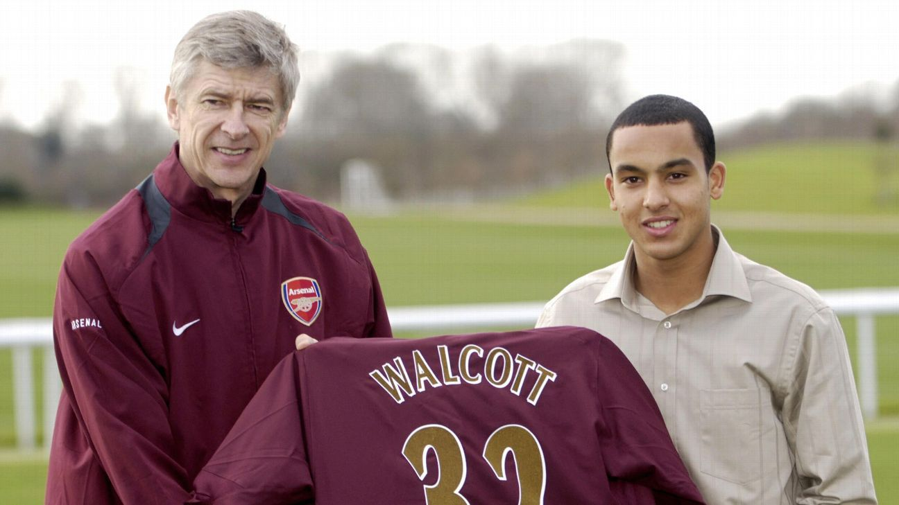 Arsenal signed Theo Walcott was he was just 16, which built expectations he could never fulfill.