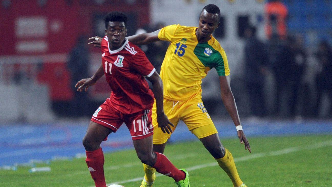 Faustin Usengimana of Rwanda and Ndong Owono Nchama Basilio of Equatorial Guinea