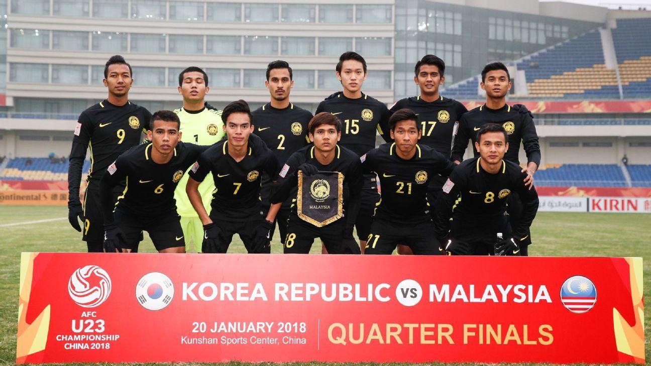 Malaysia U23 vs. S Korea, 2018 AFC QF