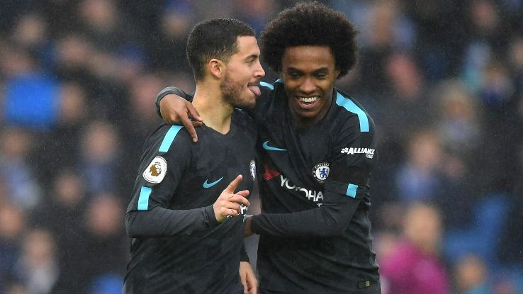 Eden Hazard and Willian have both been linked with moves away from Chelsea.