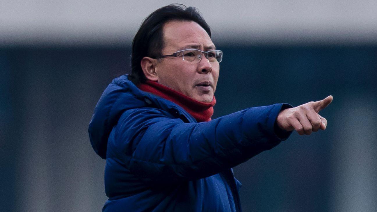 Malaysia coach Ong Kim Swee in 2018