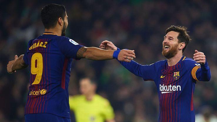 Luis Suarez & Lionel Messi