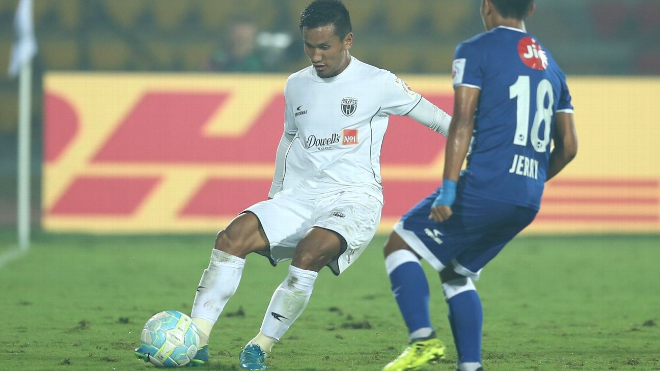 NorthEast United's Seminlen Doungel's hat trick against Chennaiyin FC was the first in the ISL since 2015.