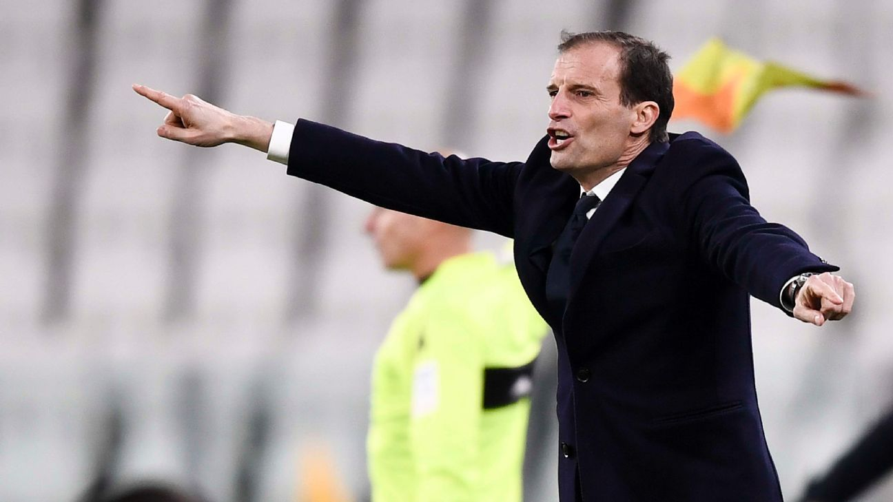 Juventus were 'a little bit tired' in first game back - Max Allegri