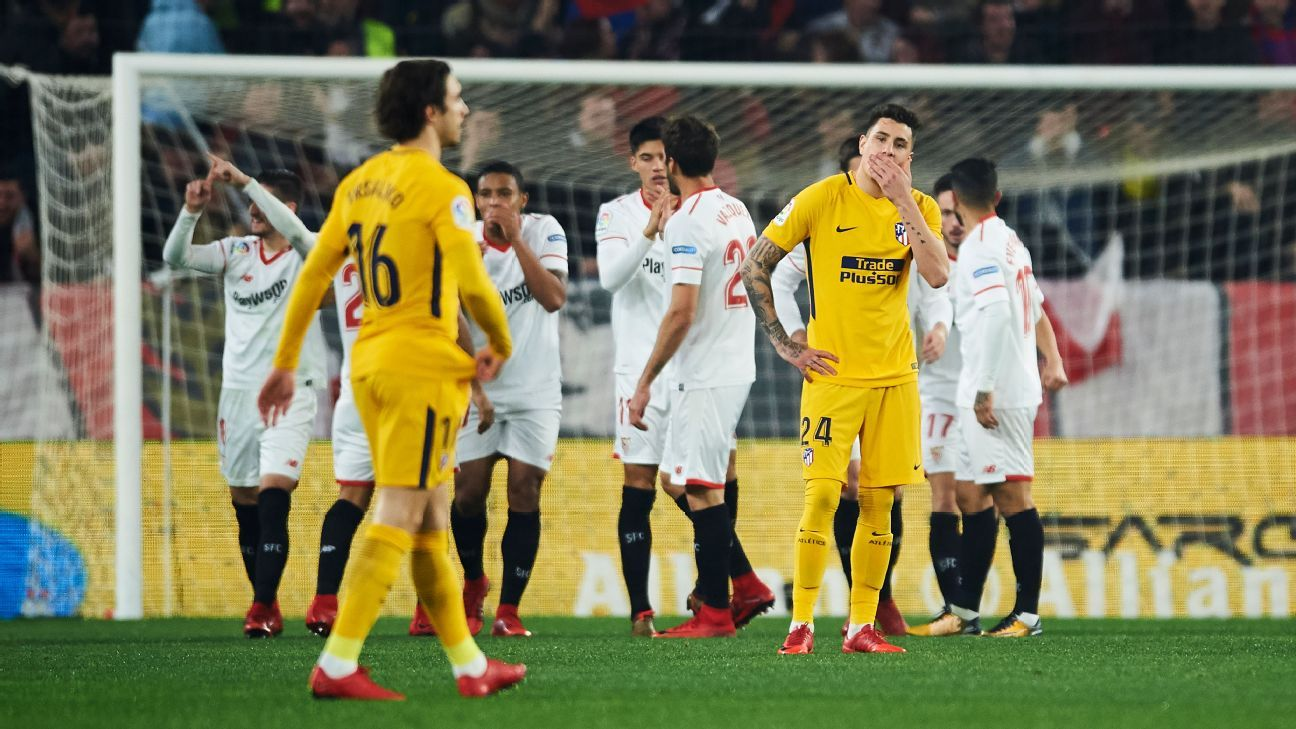 Atletico Madrid have only themselves to blame for their Copa del Rey exit.