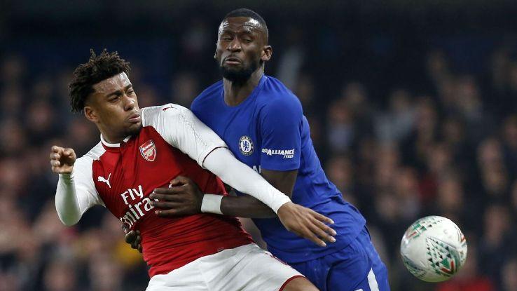 Antonio Rudiger was largely unfortunate on both Arsenal goals.
