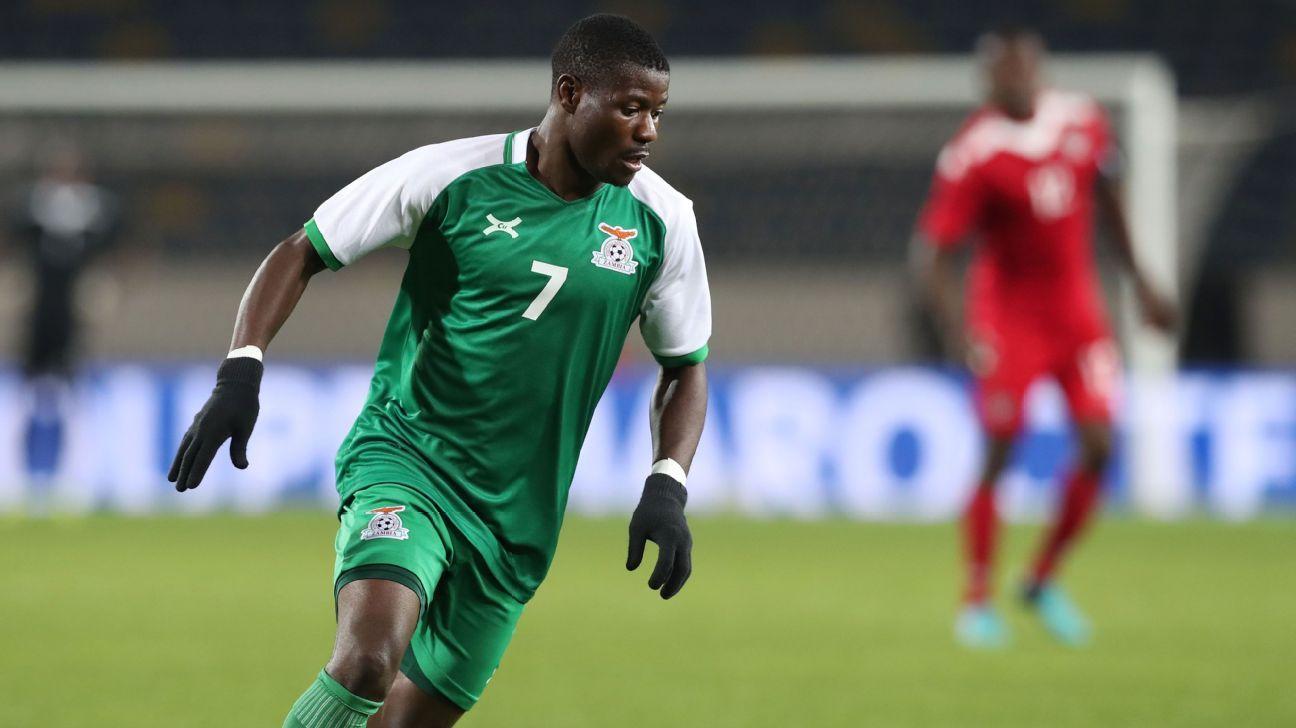 Ernest Mbewe of Zambia