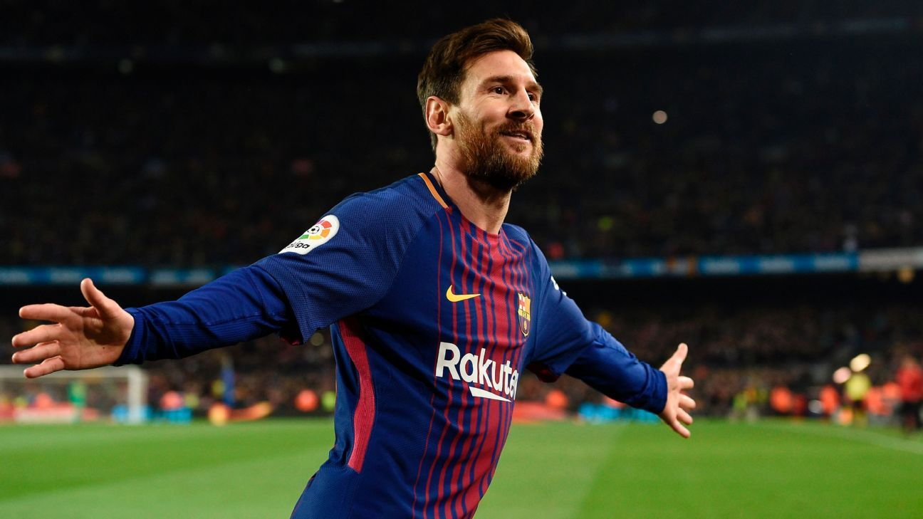 Lionel Messi scored and hit the woodwork twice vs. Espanyol.