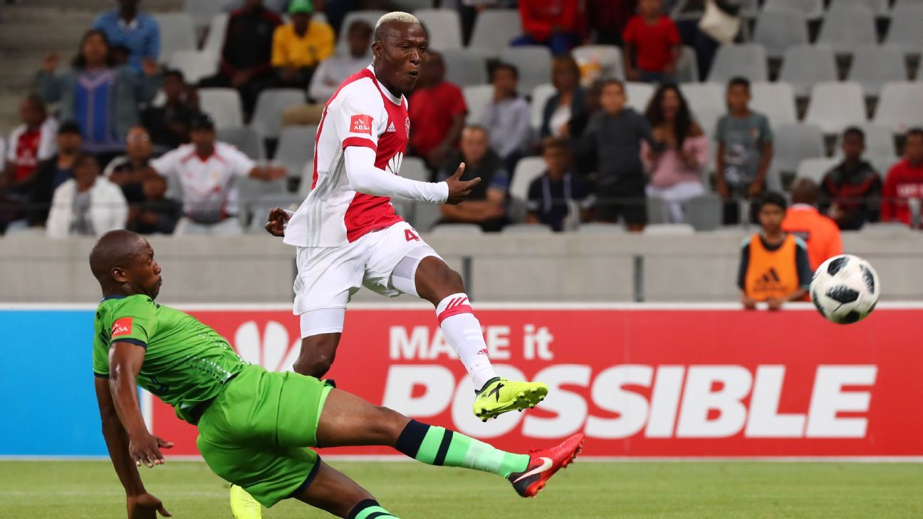 Tendai Ndoro scored on debut for Ajax