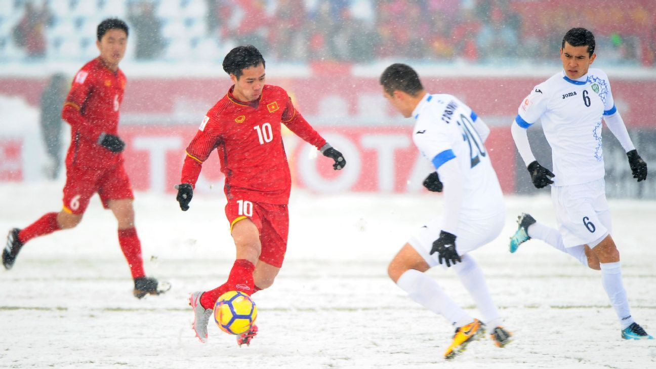 Vietnam vs. Uzbekistan in 2018 AFC U23 final