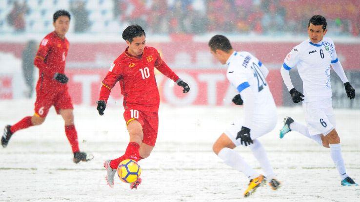 Vietnam vs. Uzbekistan in 2018 AFC U23 final