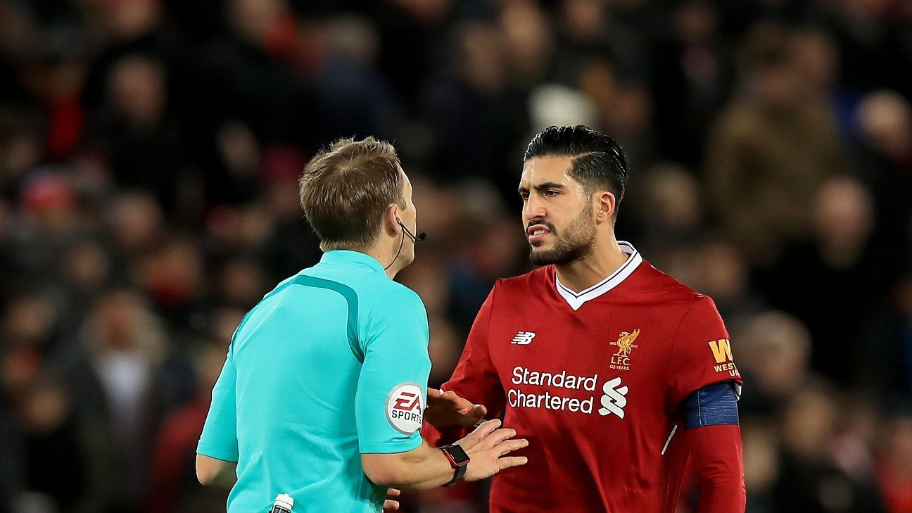 Emre Can had one of his worst nights in a Liverpool shirt.