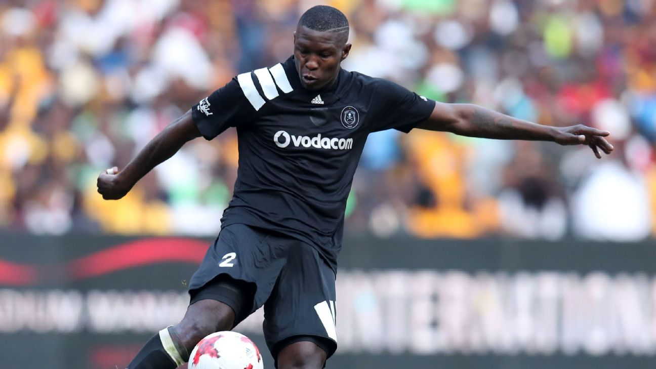 Ayanda Gcaba of Orlando Pirates