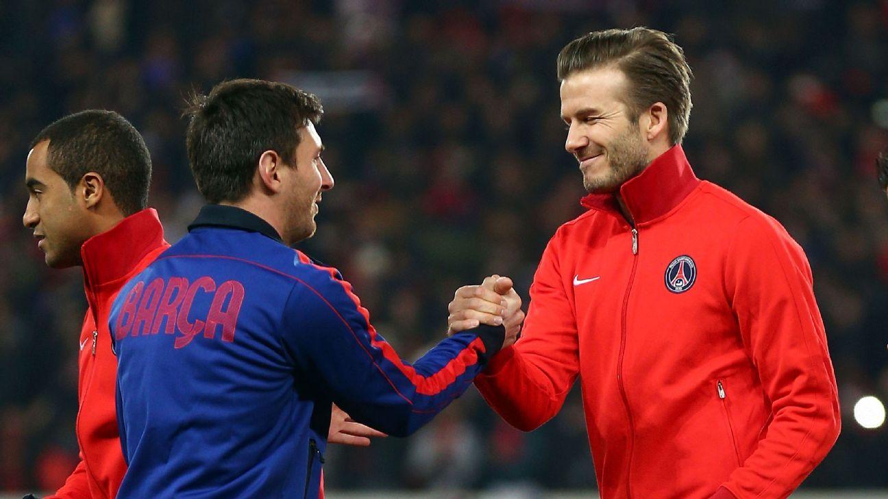 Leo Messi & David Beckham