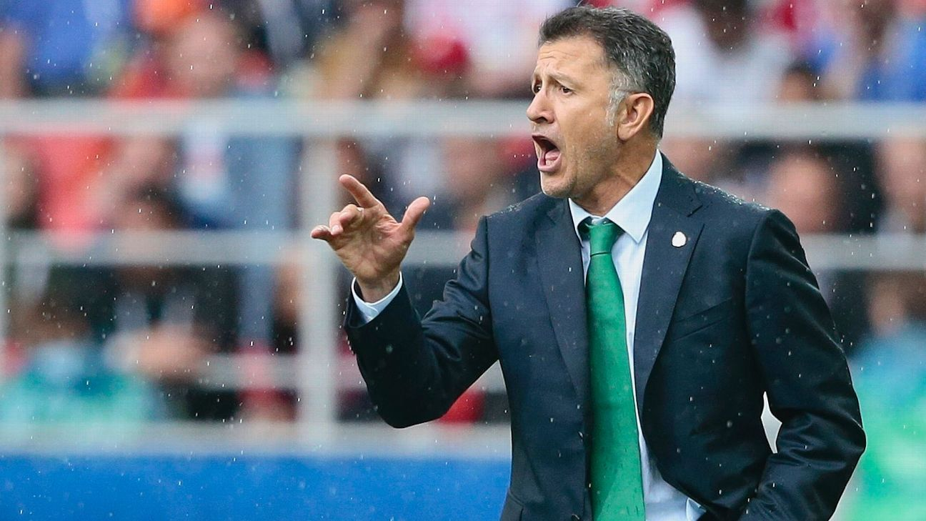 Juan Carlos Osorio couldn't quite get Mexico over the hump in knockout games.