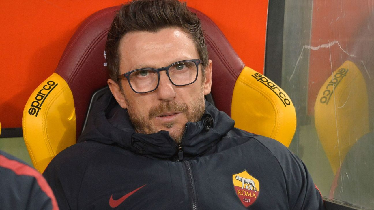 Roma manager Eusebio Di Francesco will be happy to have kept Edin Dzeko, but the January window was a tough one.