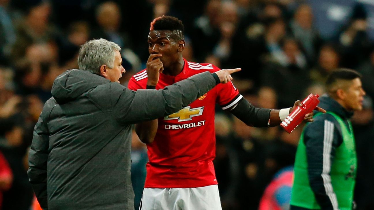 Jose Mourinho has had his ups and downs with Paul Pogba.