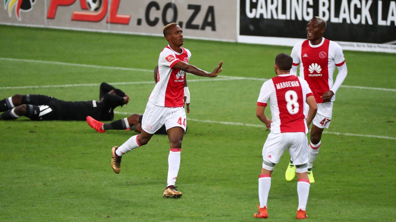 Ajax Cape Town's on-loan striker Yannick Zakri scored a double against Orlando Pirates to remind his parent club Mamelodi Sundowns of the qualities he has.