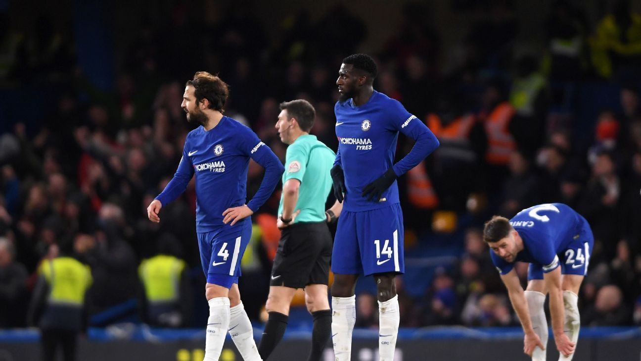 Tiemoue Bakayoko's nightmare debut season at Chelsea continued vs. Bournemouth.