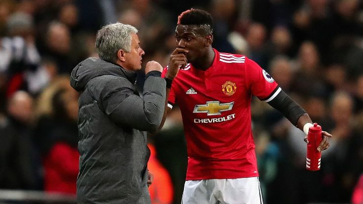 Jose Mourinho and Paul Pogba have endured difficult times at Manchester United.