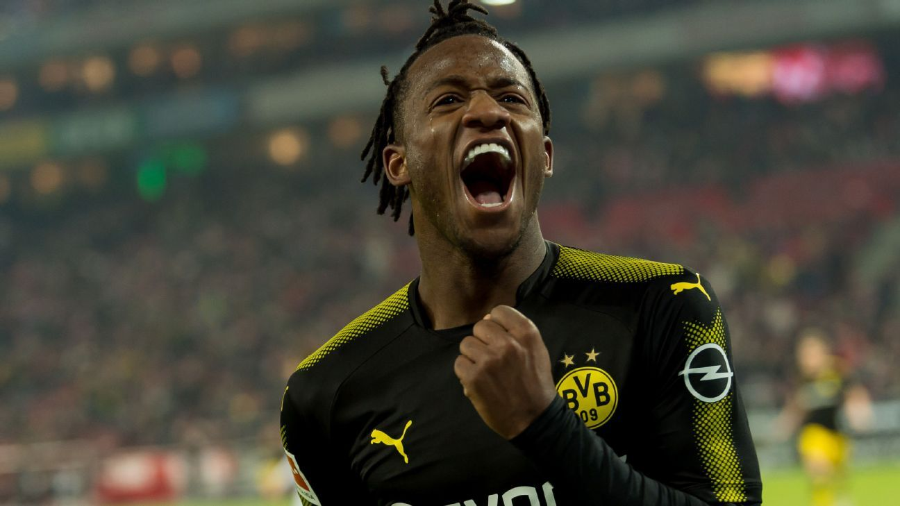 Michy Batshuayi proved to be a hit at Borussia Dortmund.