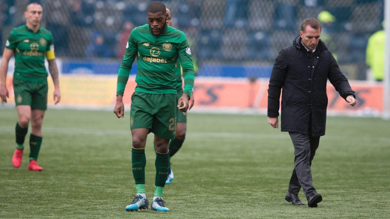 Kilmarnock stun Celtic as Youssouf Mulumbu strikes winner