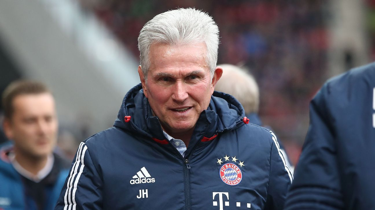 Jupp Heynckes ahead of Bayern Munich's Bundesliga win against Mainz.