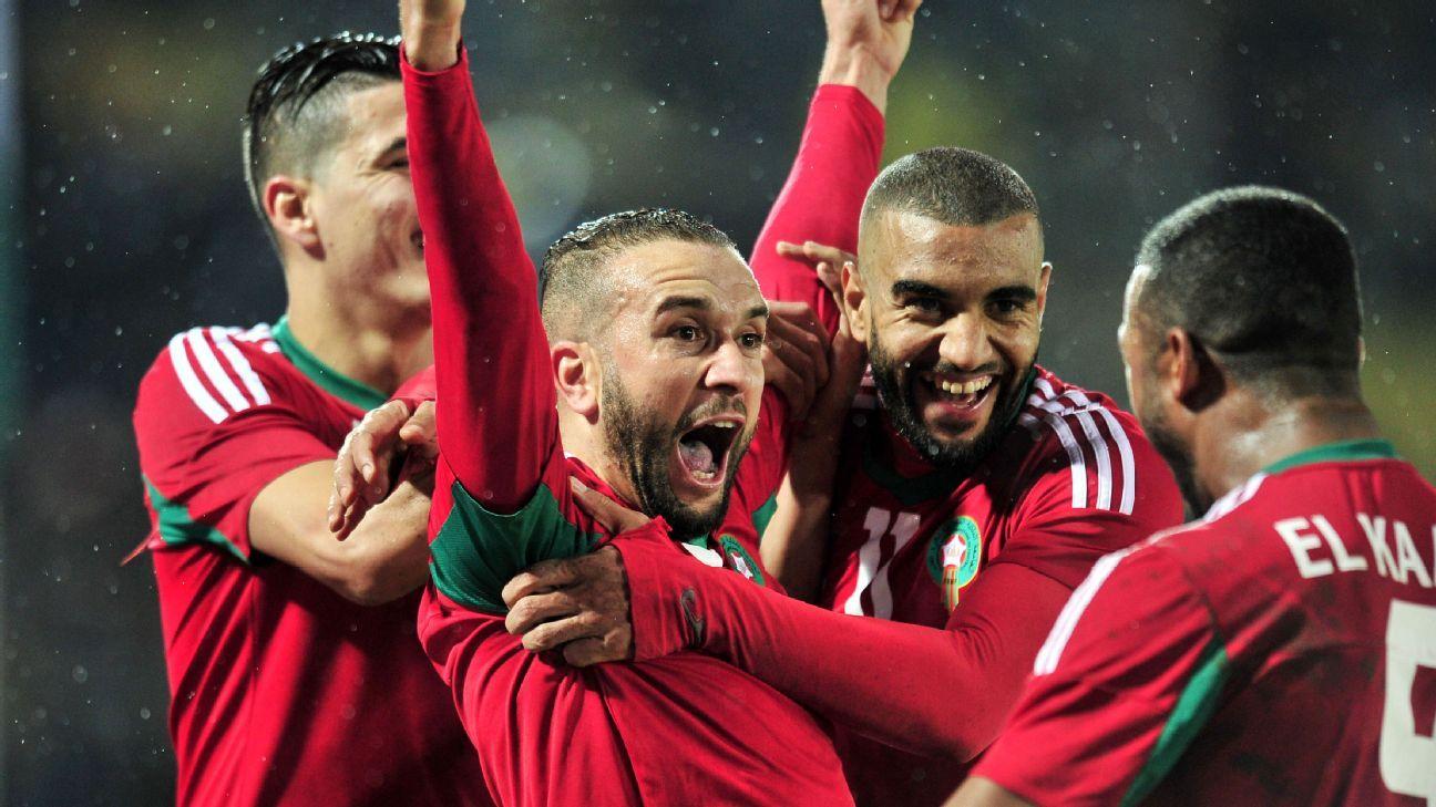 Ismail El Haddad & Zakaria Hadraf of Morocco
