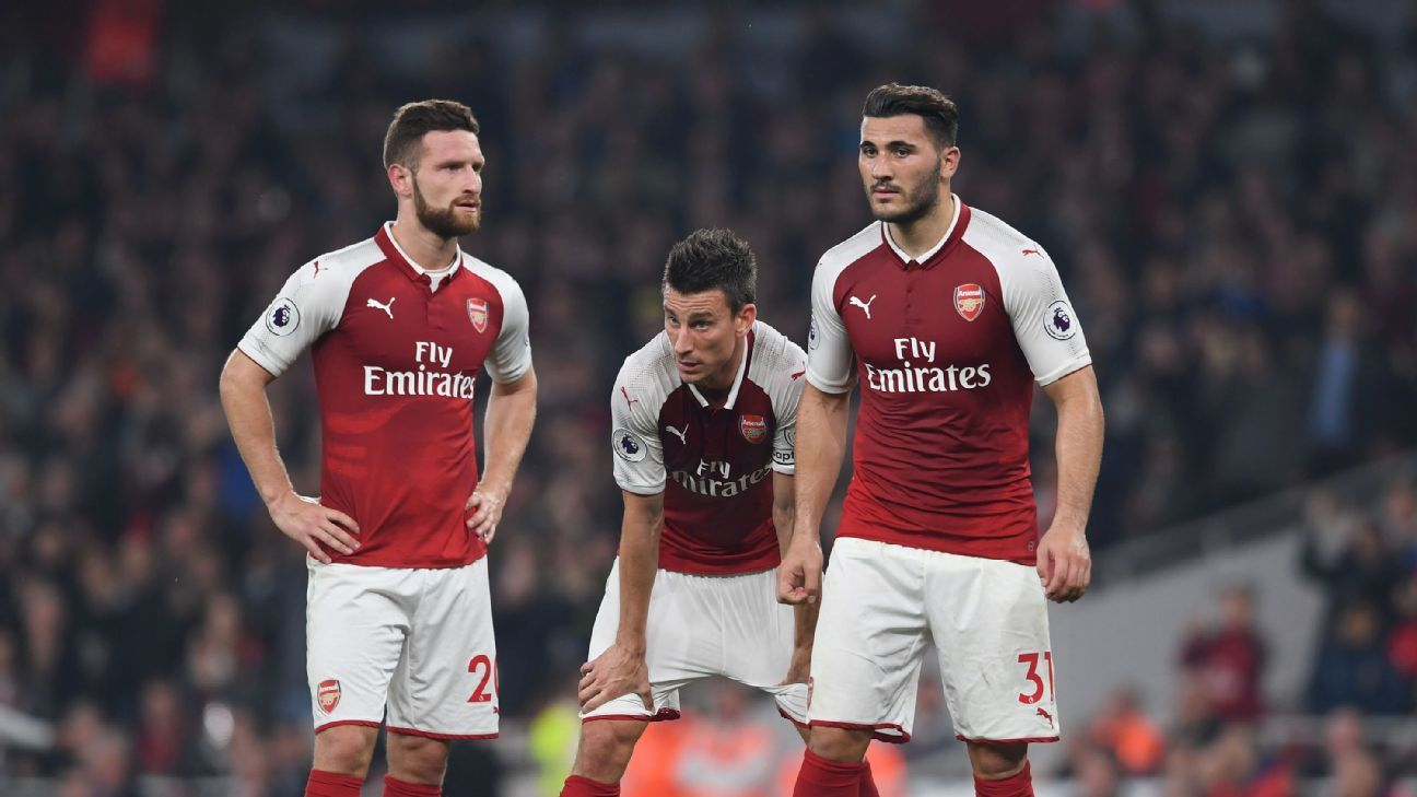 Arsenal's defence is on pace to give up more than 50 goals for the first time in over 30 years.