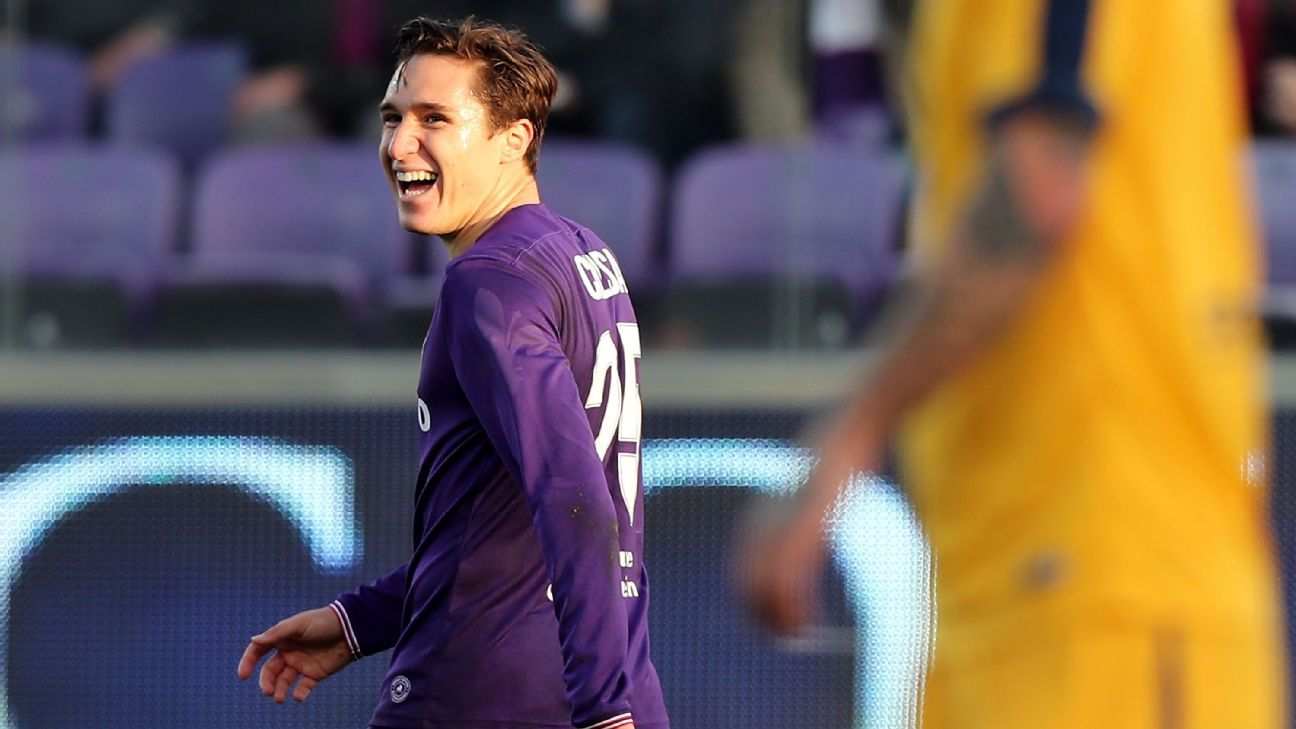 Federico Chiesa embodies the youthful spirit and great potential of this rebooted Fiorentina squad.