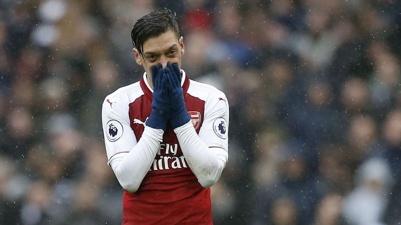 Mesut Ozil's Arsenal role is a key question for Unai Emery.