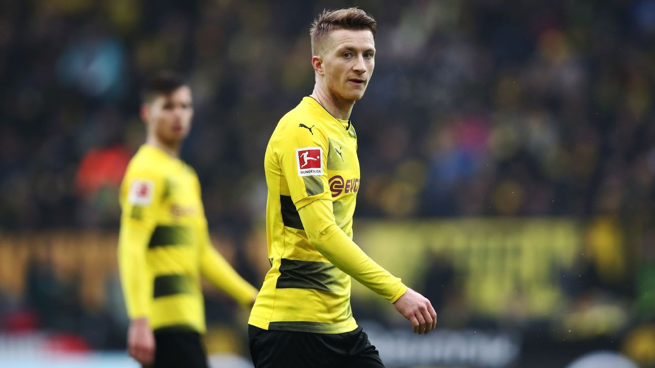 Marco Reus was in the Dortmund starting XI on Saturday for the first time since returning from a cruciate ligament injury.