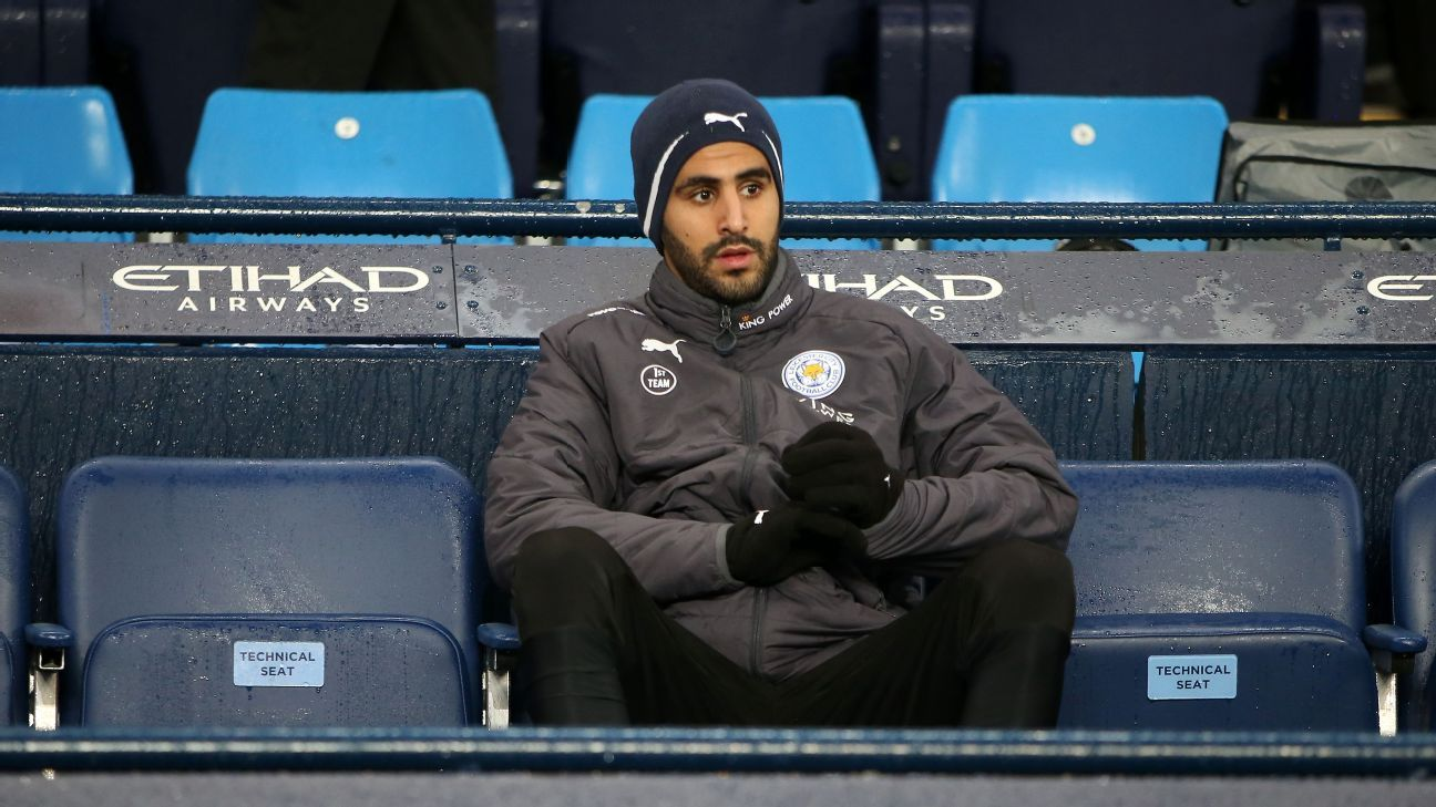 Riyad Mahrez went on strike after his proposed move to Manchester City broke down earlier in the year.