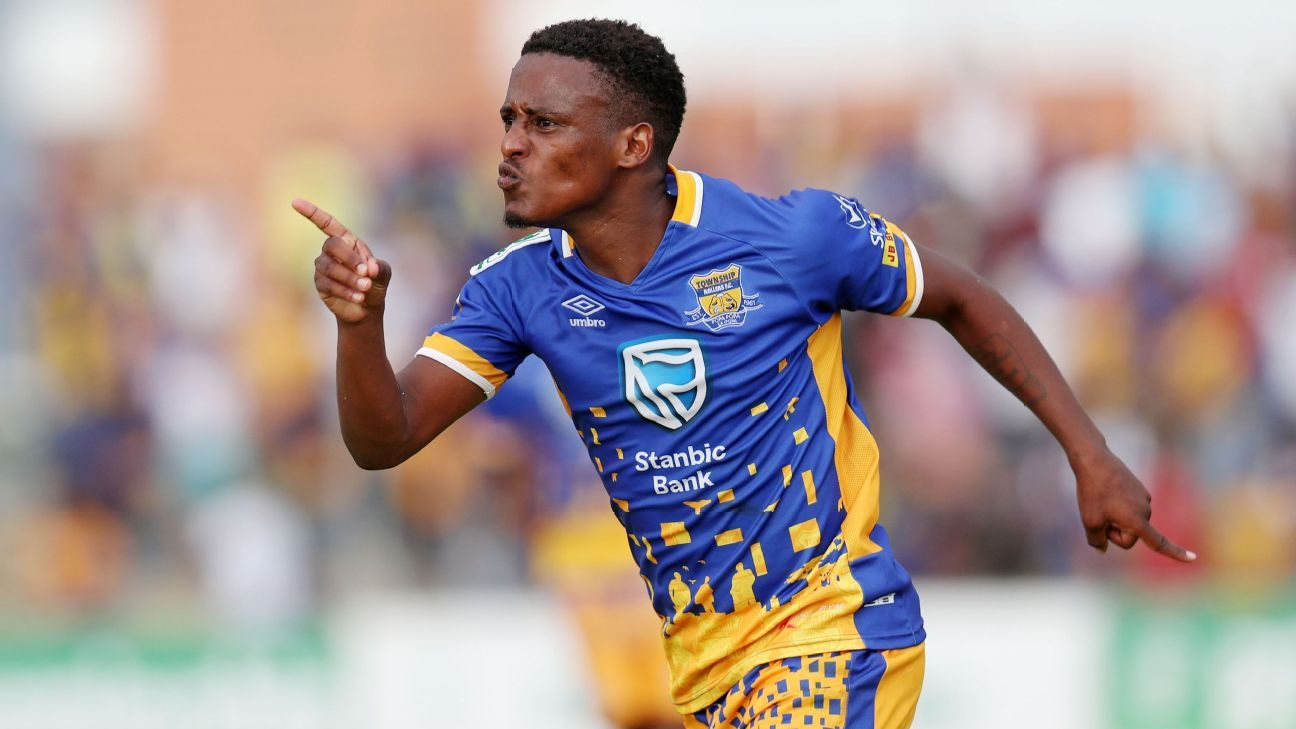 Edwin Moalosi of Township Rollers