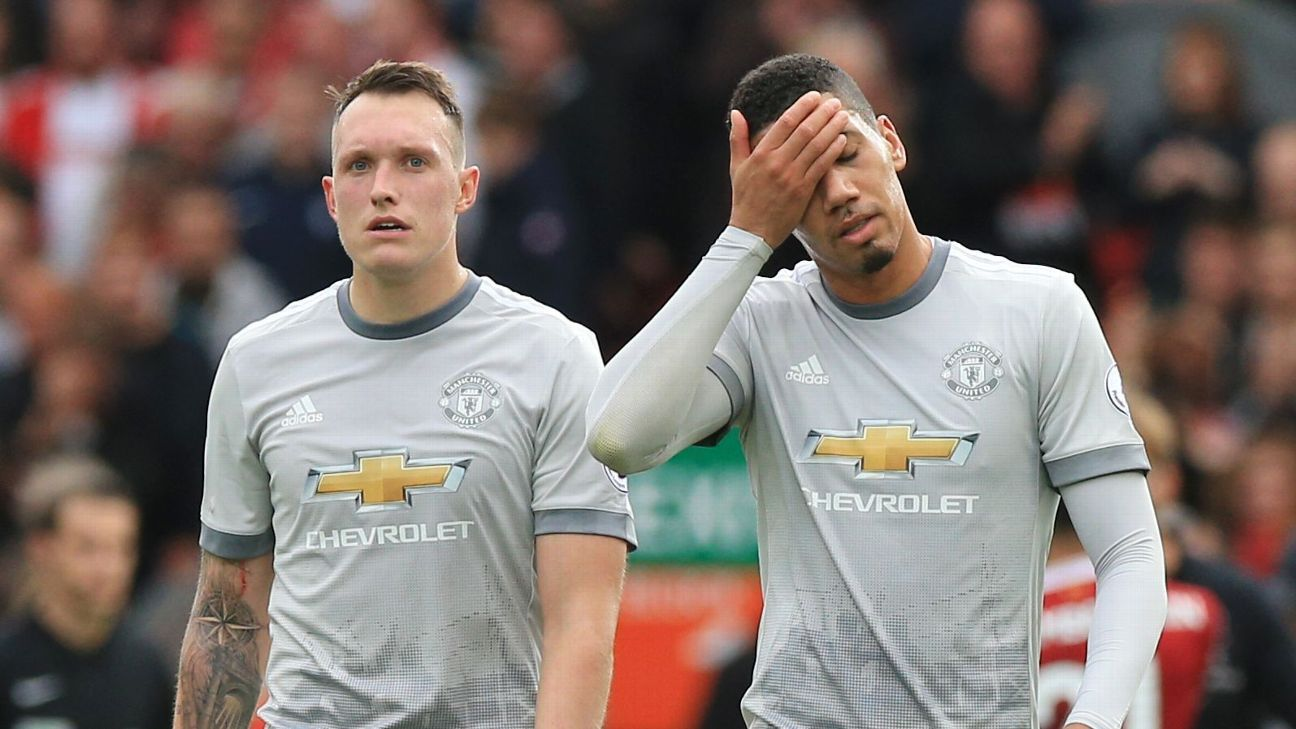 Phil Jones & Chris Smalling