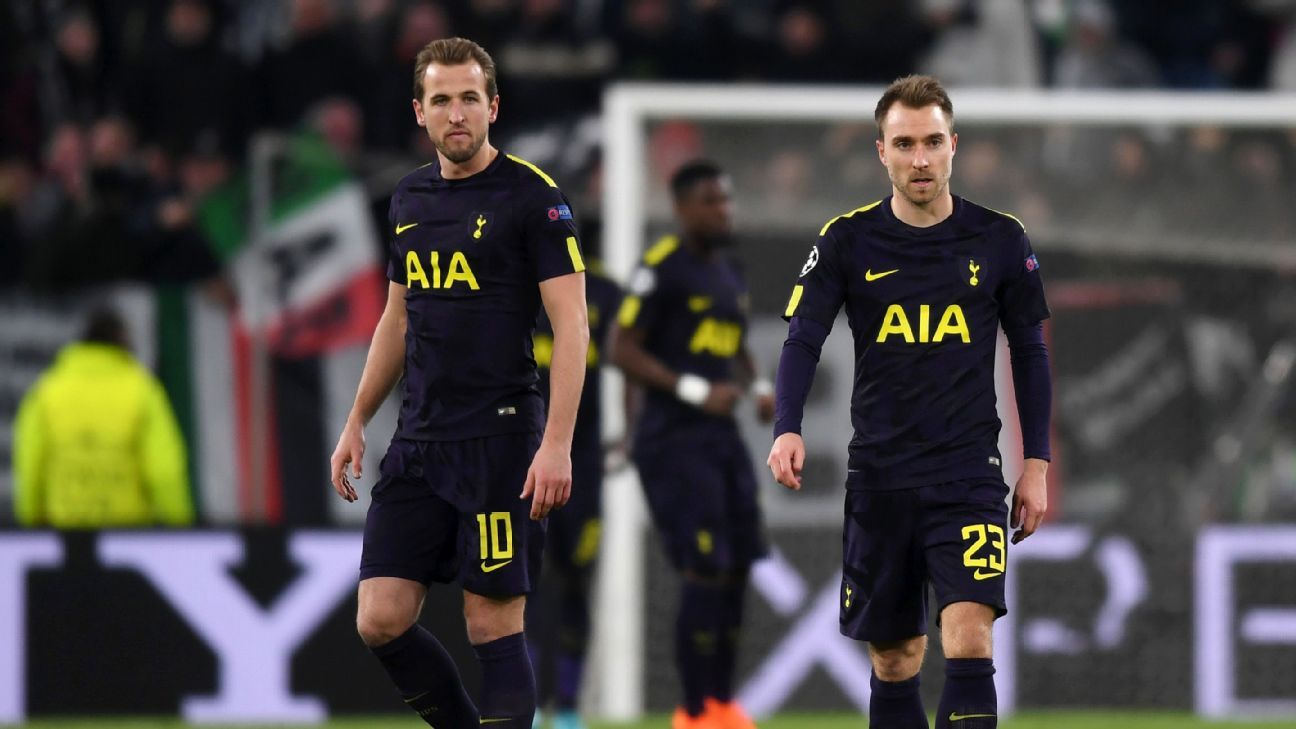 Harry Kane and Christian Eriksen