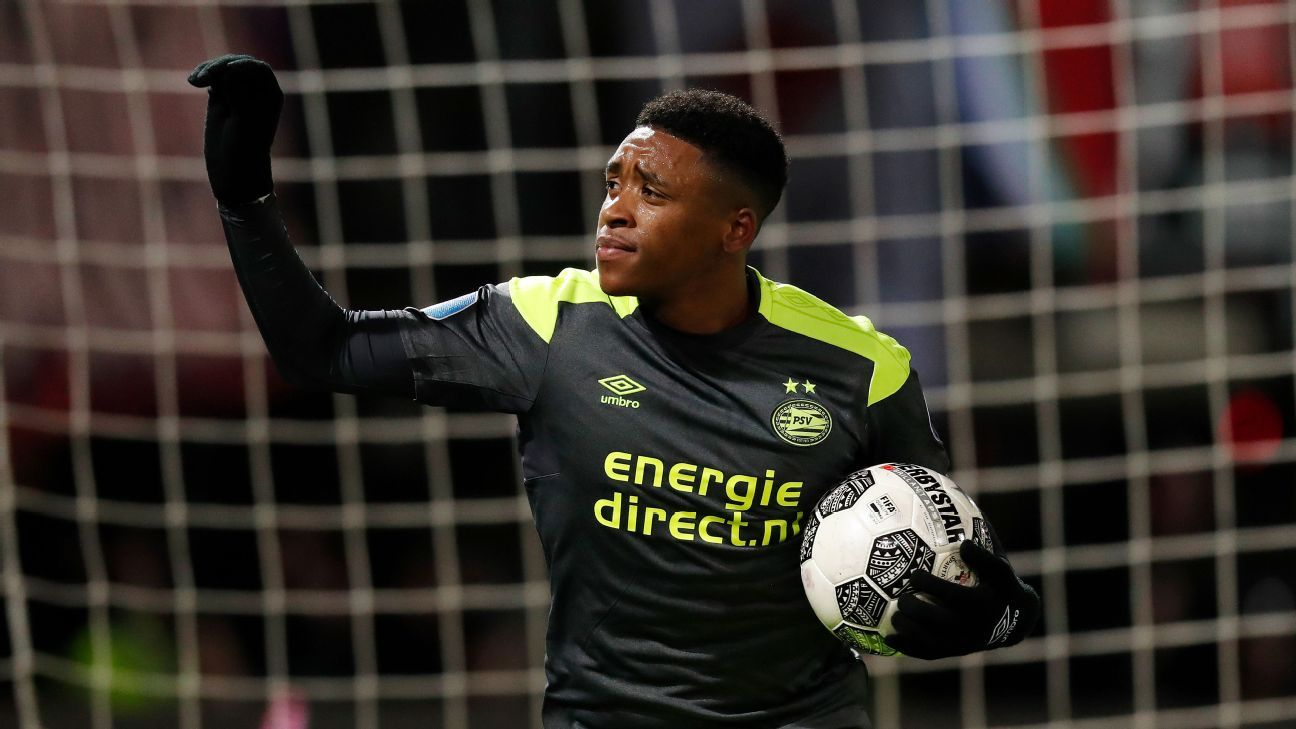 Steven Bergwijn made the early move from Ajax to PSV.